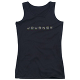 Juniors Tank Top: Journey- Repeat Logo Womens Tank Tops