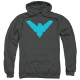Hoodie: Batman- Nightwing Symbol Pullover Hoodie