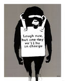 In Charge Monkey Plakater
