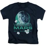 Juvenile: Veronica Mars- Marshmallow Logo T-shirts