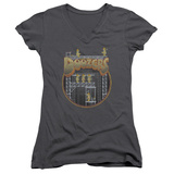 Juniors: Fraggle Rock- Doozers Construction V-Neck T-shirts