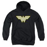 Youth Hoodie: Wonder Woman- Logo Pullover Hoodie