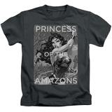 Juvenile: Wonder Woman- Princess Of The Amazons T-Shirt