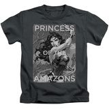 Youth: Wonder Woman- Princess Of The Amazons T-Shirt