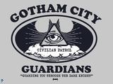 Batman - Off the Clock Plastic Sign
