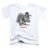 Toddler: Rubik's Cube- Nerd Squirrel T-shirts