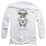 Long Sleeve: Rubik's Cube- Outside The Cube T-shirts