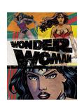 Wonder Woman Design Posters
