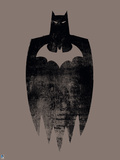Batman - Acid Wash Wall Decal