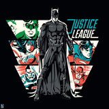 Justice League Design Print