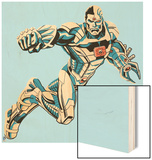 Justice League - Cyborg Wood Print