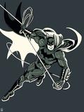 Justice League Design Plastic Sign