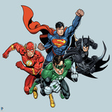 Justice League Design Wall Decal