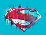 Superman Design Wall Decal