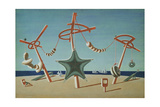 The Beached Margin Giclee Print by Edward Wadsworth
