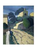 Road at St Paul (Var) Giclee Print by Félix Vallotton