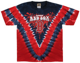 Youth: MLB- Red SoxThrowback V-Dye Tシャツ