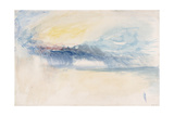 Rain Clouds Lámina giclée por Joseph Mallord William Turner
