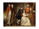 The Beaumont Family Giclee Print by George Romney