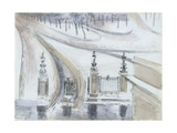 London: Winter Scene, No. 2 Giclee Print by Paul Nash