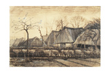 Thatched Roofs Giclee Print by Vincent van Gogh