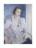 Mrs Gerard Simpson Giclee Print by Glyn Warren Philpot