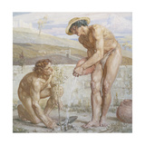 Paul and Apollos Giclee Print by Sir Edward Poynter