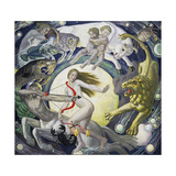 The Zodiac Giclee Print by Ernest Procter