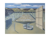 Landscape at Iden Giclee Print by Paul Nash