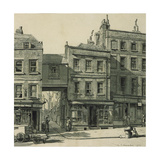 High Street, Hampstead Giclee Print by Randolph Schwabe