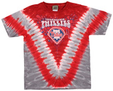 Youth: MLB- PhilliesThrowback V-Dye Shirts
