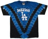 Youth: MLB- DodgersThrowback V-Dye Koszulki