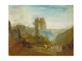Tivoli, the Cascatelle Giclee Print by Joseph Mallord William Turner