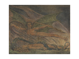 Satan Exulting over Eve Giclée-Druck von William Blake