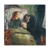 The Sick Child Giclee Print by Edvard Munch