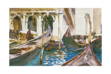 The Piazzetta, Venice Giclee Print by John Singer Sargent