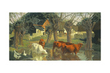 Pastoral Giclee Print by James Bateman