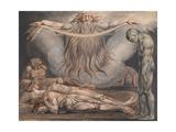 The House of Death Giclée-Druck von William Blake
