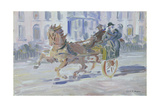 Back from the Races Giclee Print by Jack Butler Yeats