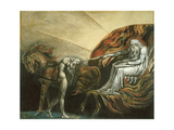 God Judging Adam Giclee Print by William Blake