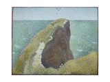 Le Bec Du Hoc, Grandcamp Giclee Print by Georges Seurat