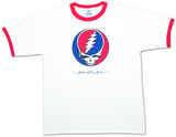 Grateful Dead- Steal Your Face Ringer Shirts