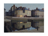 Quiet Twilight, Honfleur Giclee Print by Terrick Williams
