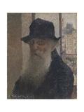 Auto-portrait Reproduction procédé giclée par Camille Pissarro