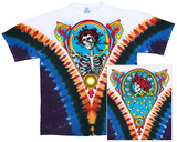 Grateful Dead- Skull and Roses (Front/Back) Magliette