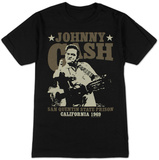 Johnny Cash- San Quentin Stars T-shirts