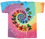Youth: Grateful Dead- Spiral Bears Vêtements