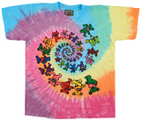 Youth: Grateful Dead- Spiral Bears Tシャツ