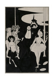 Design for the Frontispiece to John Davidson's Plays Giclee Print by Aubrey Beardsley
