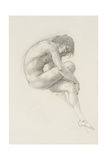 Study of Perseus for 'The Call of Perseus' Giclee Print by Edward Coley Burne-Jones